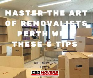 Master The Art Of #House #Removalists #Perth With These 5 Tips