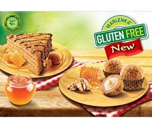 Gluten Free Honey Cake and one package of Gluten Free Honey Nuggets delivered…