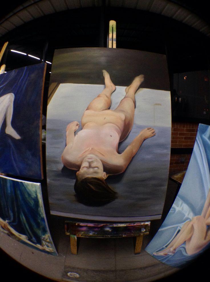 Óleo sobre lienzo  -Repl : M.Borremans
