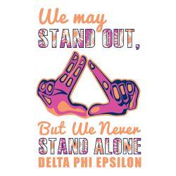 Greek Streak - Delta Phi Epsilon Apparel - Custom Designs | Letters | Delta phi epsilon, Delta phi, Phi sigma sigma