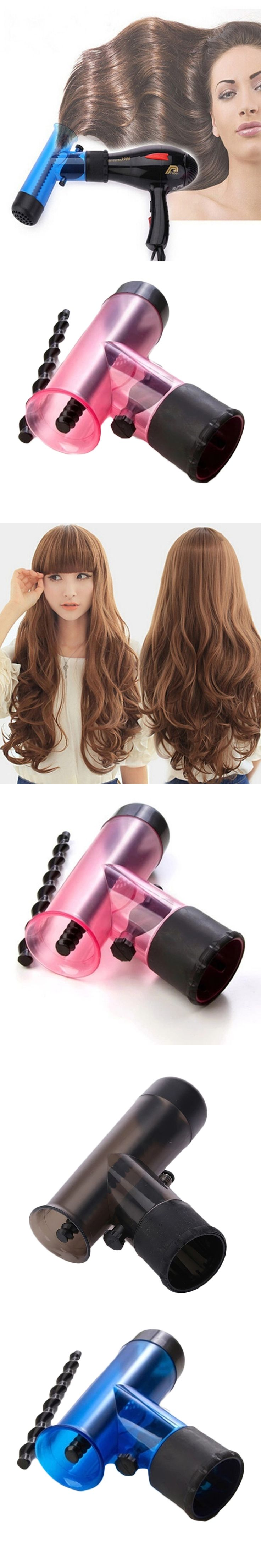 New Hair Dryer Diffuser Magic Wind Spin Curl Hair Salon Styling Tools Hair Roller Curler Make Hair Curly Without Damage