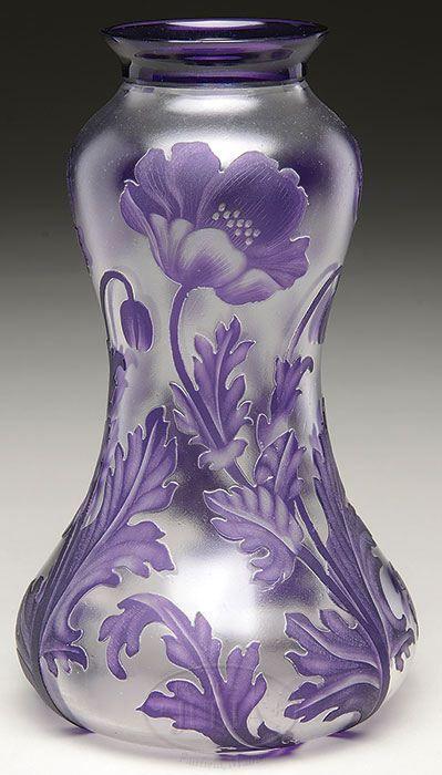 Val St. Lambert vase