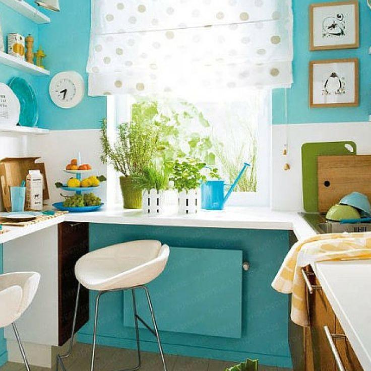 en la cocina puedes combinar diferentes colores y formas atrvete qu te