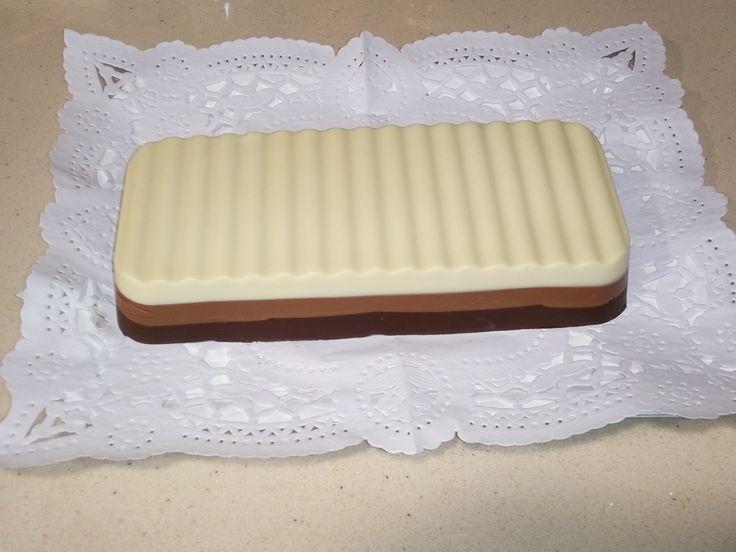 Turrón tres chocolates con Thermomix