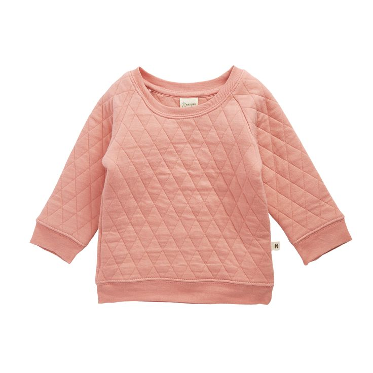 Quilted Emmy Sweater   Natural Organic Bio Baby Products: Organic Cotton & Merino Wool