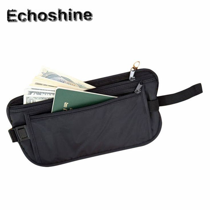 2016 Fashion Waterproof Security  Bags Wallet Casual Traveling Storage Zipper Waist Bag traveling and daily bags gift wholesale