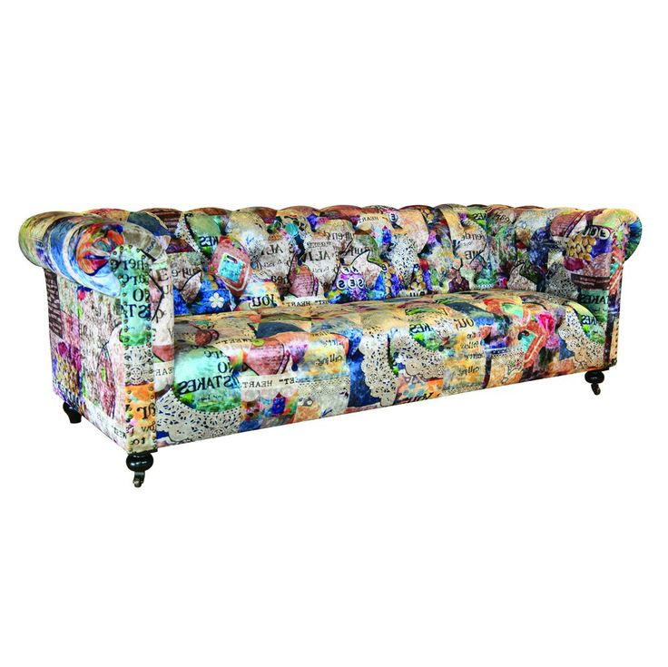 Catania Chesterfield Patchwork C