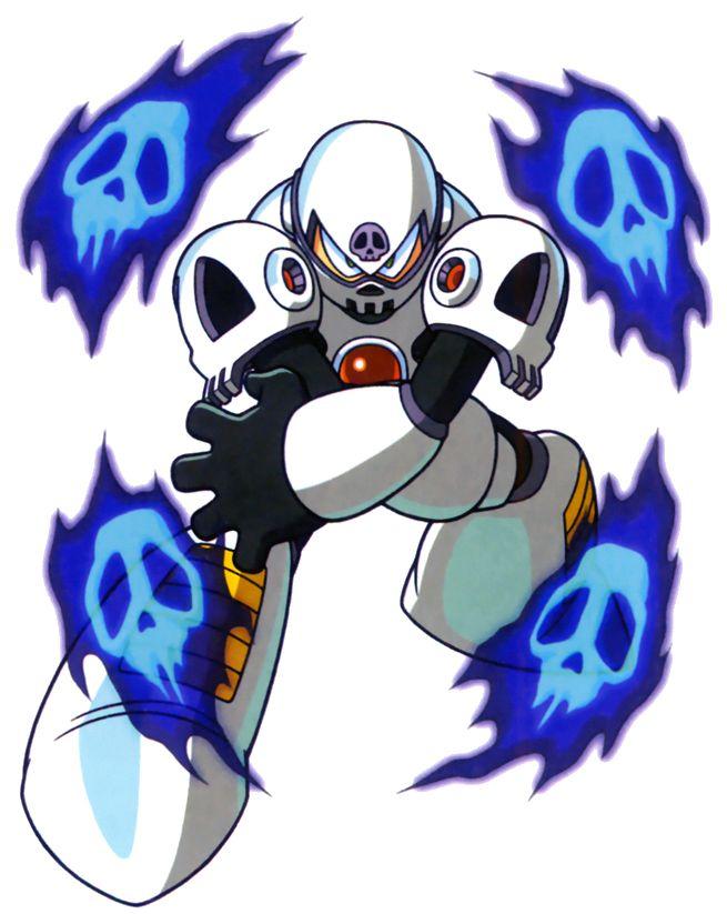 Skull Man (from Mega Man 4)