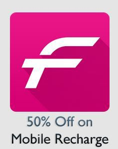 50% on Mobile Recharge at Fastticket.