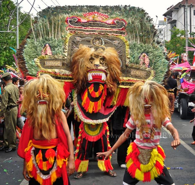 Reog #Ponorogo | Kirab Budaya Dugderan 2012, #Semarang - Johan Surya