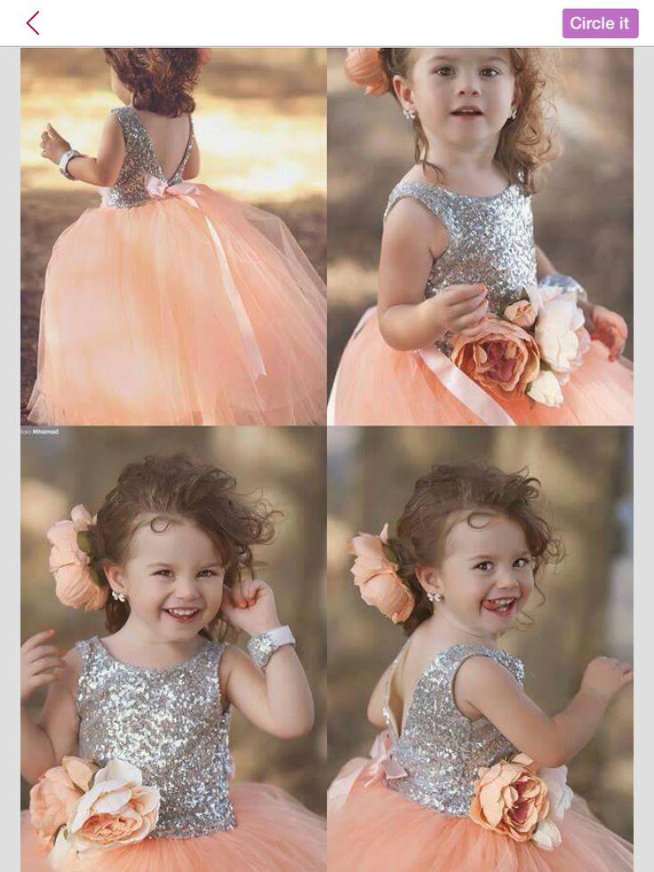 cute girls gown