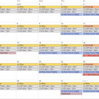 FREE Universal Orlando 12-month crowd calendar with park hours and special events
