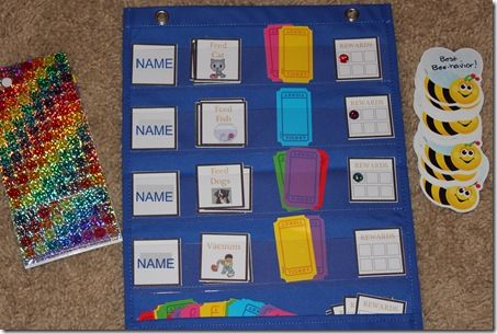 Free toddler and preschooler chore chart printables. --  Confessions of a homeschooler blog...great resources!