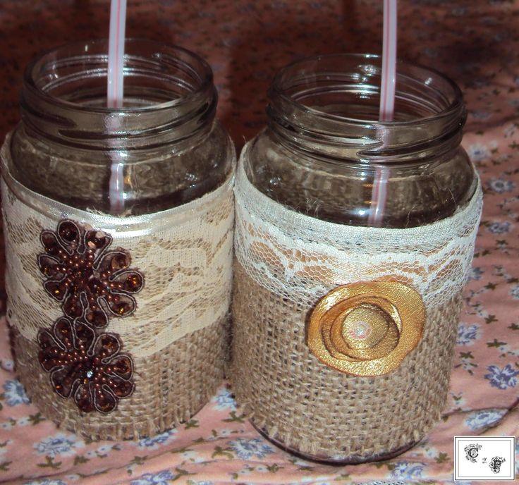 Solo las 25 mejores ideas sobre envases de mermelada en for Envases de vidrio decorados