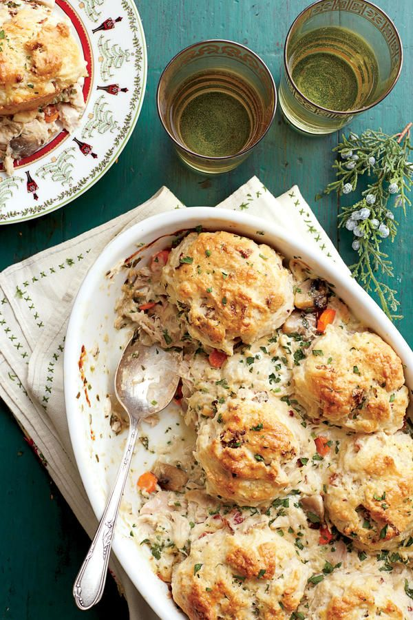 Easy Chicken Suppers: Chicken-and-Biscuit Cobbler