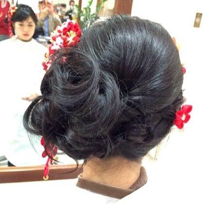 振袖UP | 三田・ウッディタウンの美容室 HAIR SALON PREGO 三田店のヘアスタイル | Rasysa(らしさ)
