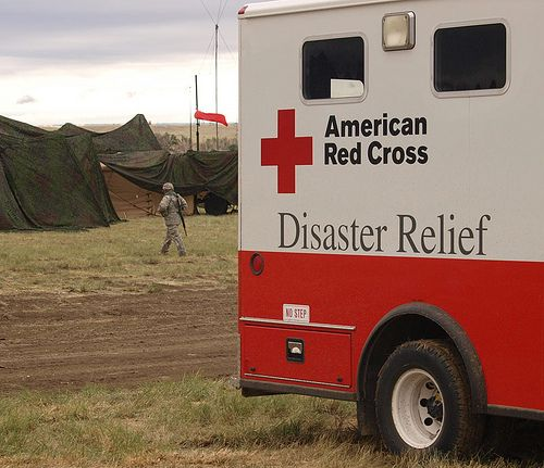 American Red Cross Disaster Relief - Always a challenge but always rewarding