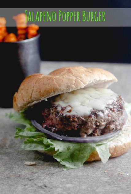 Jalapeno Popper Stuffed Burger. This was good. Spicy. I just used 1oz cream cheese, 1oz jalapeños, 1 tbs cheddar cheese(use more next time) salt and pepper