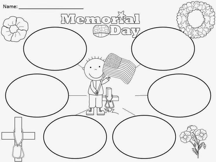 Free: Memorial Day Bubble Map. Freebie For A Teacher From A Teacher!  Enjoy! Regina Davis aka Queen Chaos at Fairy Tales And Fiction By 2.