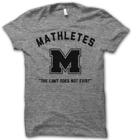 Proud Mathlete, the limit does not exist!