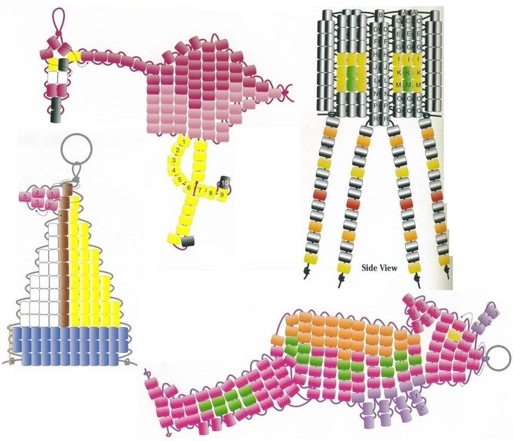 Pony beads patterns