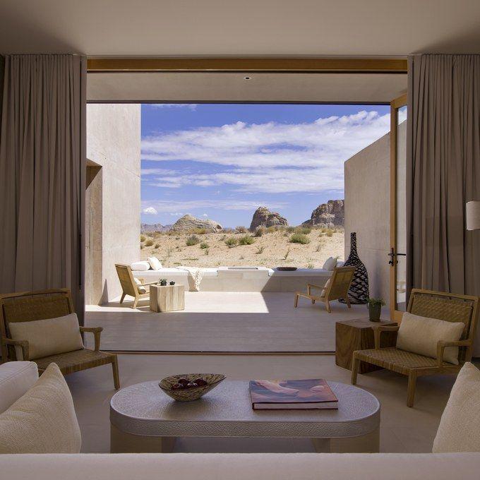 Amangiri  Suite bedroom<em>High Res</em>2613.jpg... Amangiri in Canyon Point, Utah.....RR