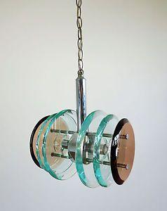 1970 vintage lampadario in vetro di murano by mazzega ebay vintage ...