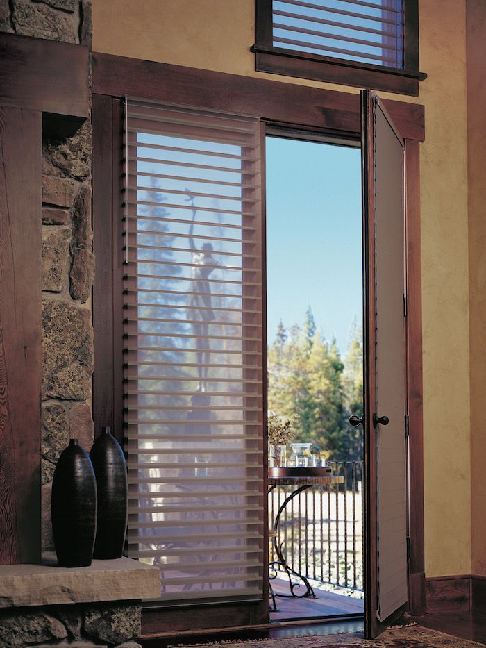25 best ideas about French door coverings on Pinterest Sliding