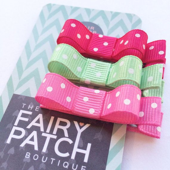 Girls Hair Clips Toddler Girls Hair Clips  by fairypatchboutique