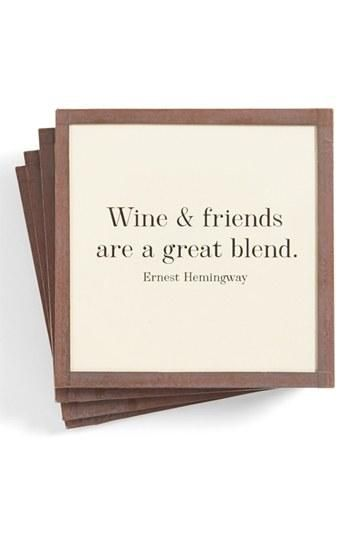 WINE & friends are a great blend