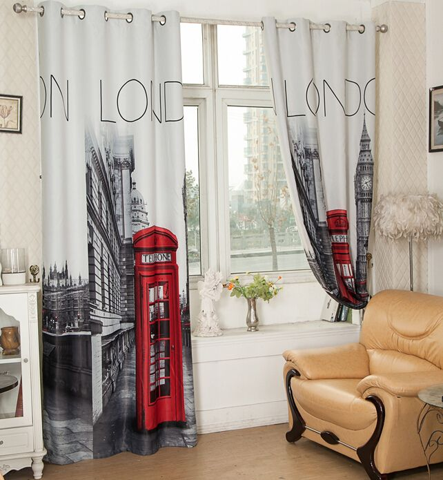 Bryan's room  Cheap Curtains, Buy Directly from China Suppliers:	High quality jacquard grey curtain finished bedroom custom window tulle/ gauze/ voile curtains for living room