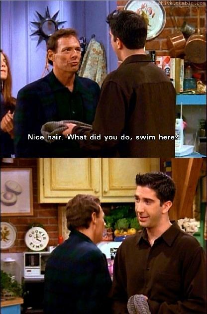 Rachel's dad and Ross