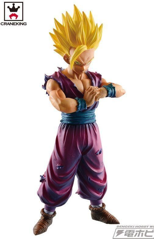 Dragon Ball Z  Figurine Son Gohan Super Saiyan Resolution of Soldiers Vol.4. Brand Name: BanprestoAge Range: 8-11 Years,> 8 years old,12-15 Years,> 14 Years old,GrownupsMaterial: PVCItem Type: ModelBy Animation Source: JapanGender: BoysCondition: In-Stock ItemsScale: 1/12Version Type: First EditionSize: 14cmMfg Series Number: ModelTheme: Movie & TVRemote Control: NoCompletion Degree: Finished GoodsPuppets Type: ModelCommodity Attribute: Peripherals