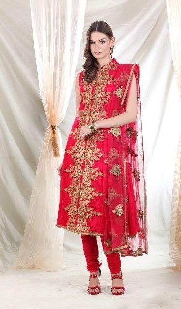 Latest Anarkali Salwar Kameez 2014 Designs. #pakistaniclothes, #designeranarkalisuits, #anarkalisalwarkameez, #salwarkameez, #pakistanisalwarkameez, #fashion