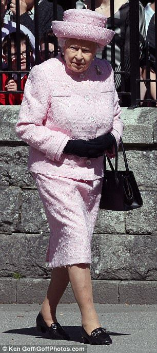 Holiday: The Queen is moving into the castle after spending time in a lodge on Balmoral es...