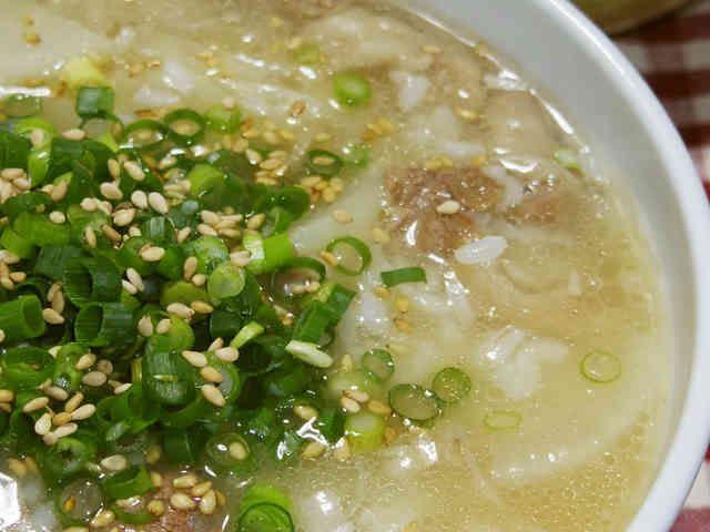 韓国料理牛すじコムタン風コラーゲンクッパの画像