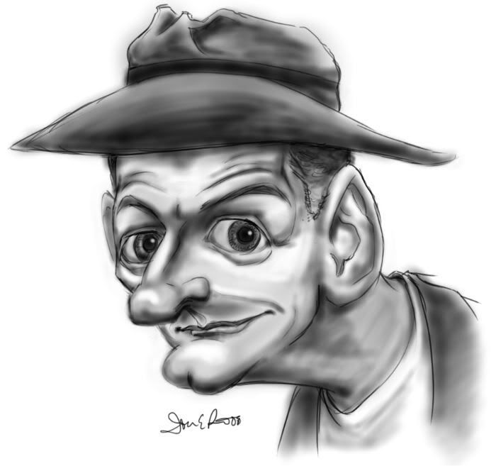 Ed Norton from honeymooners by E-Caricatures