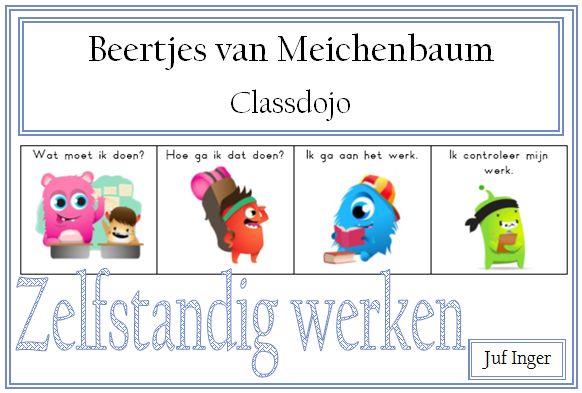 De Beertjes van Meichenbaum helpen leerlingen bij het denkproces tijdens het uitvoeren van een opdracht. De figuurtjes helpen de leerlingen om een taak stapsgewijs aan te pakken. De afgelopen schooljaren ben ik steeds meer met Classdojo gaan werken en daarom heb ik een versie van de Beertjes van Meichenbaum gemaakt met de monsters van Classdojo. …