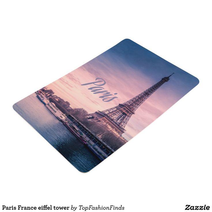 Paris France eiffel tower Floor Mat   Zazzle.com