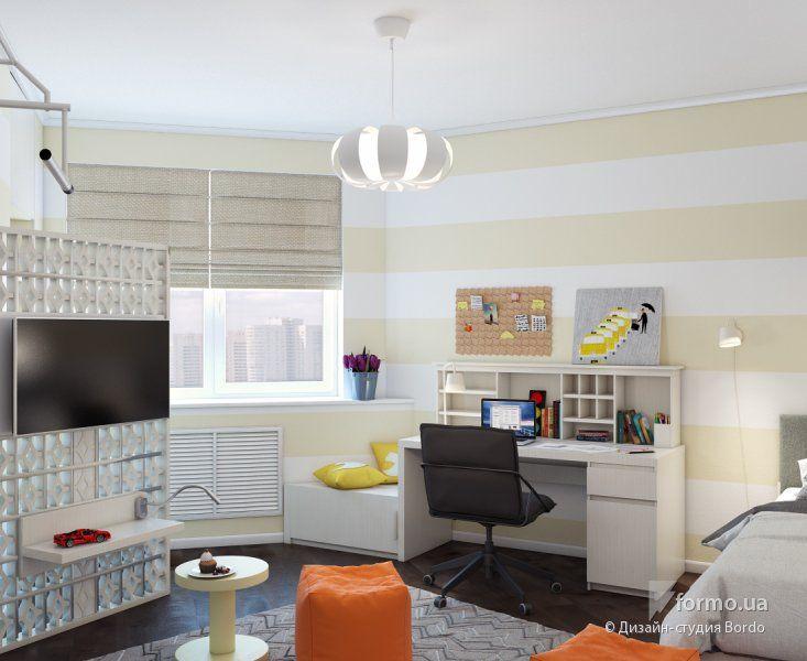 Уютное жилье семьи с ребенком, Дизайн-студия Bordo, Детская комната, Дизайн интерьеров Formo.ua