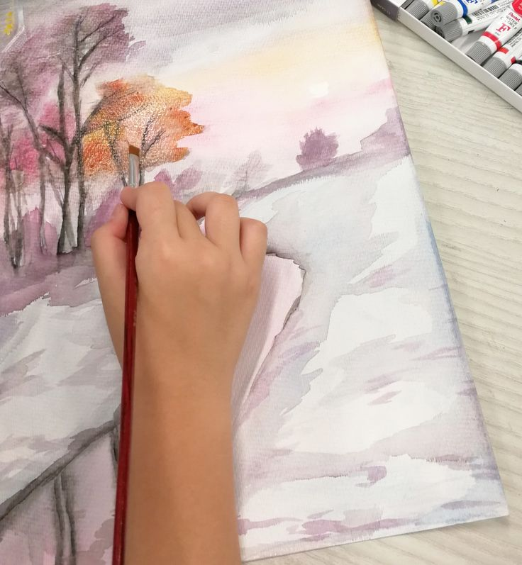 Watercolour Painting @ River Valley High