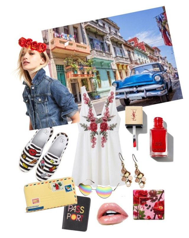 """""""Cuba libre"""" by magdaluque ❤ liked on Polyvore featuring BP., Lizzie Fortunato, Vera Bradley, Jo Malone and Lucky Brand"""