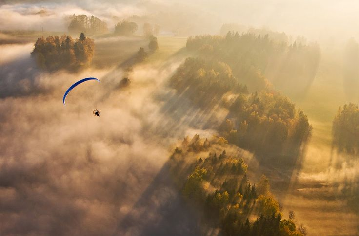 Paragliding. The website for local paragliding is: https://www.facebook.com/SkyParaglidersPilots/