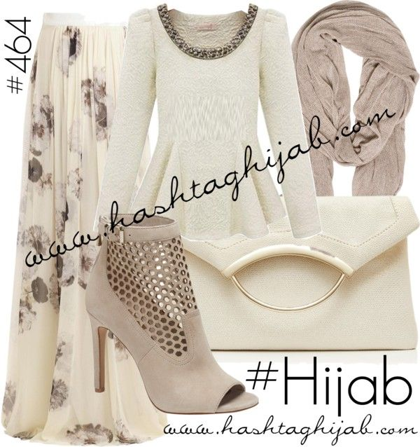 Hashtag Hijab Outfit #464 by hashtaghijab featuring a pleated maxi…