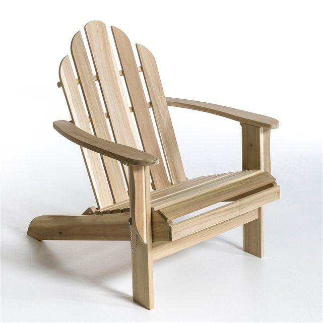 1000 id es sur le th me fauteuils adirondack sur pinterest chaises bascul - Fauteuil la redoute ampm ...