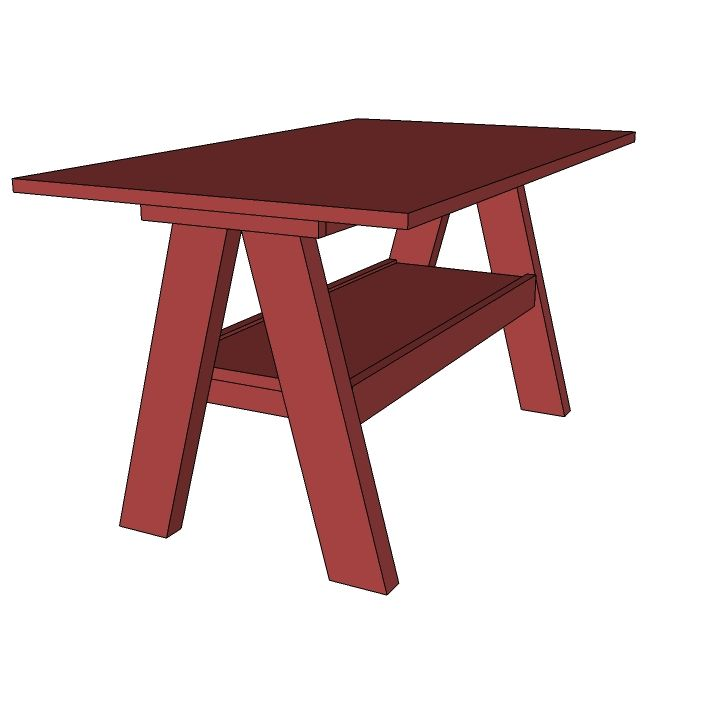 1000 ideas about kids picnic table plans on pinterest for Diy play table plans