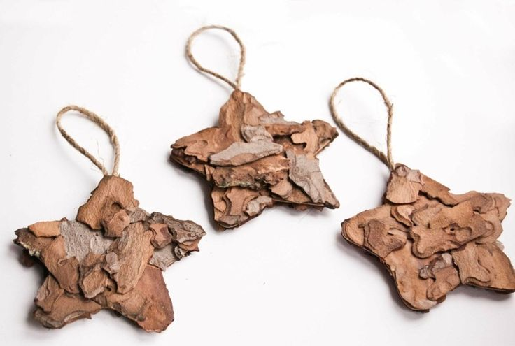 Weihnachtsbaumschmuck basteln - 32 Ideen aus verschiedenen Materialien