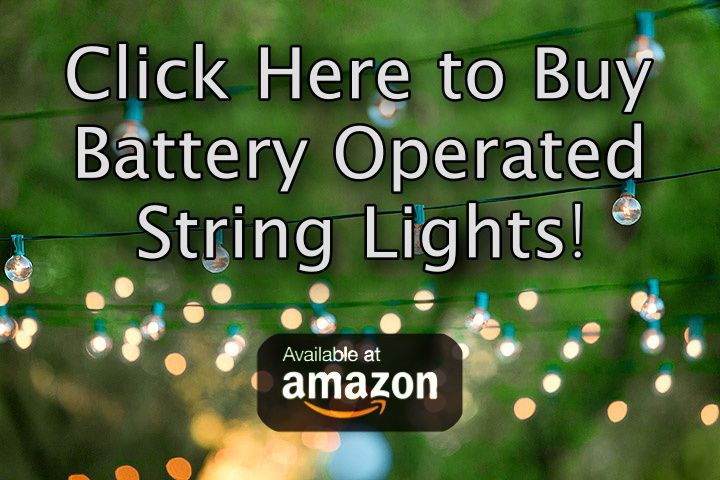 battery operated led string lights