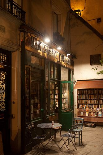 Shakespeare & Co. Read a book about this place - would love to see it!!