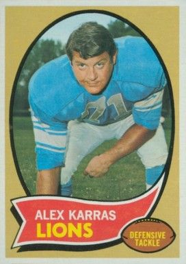 #1 LDT #4 Lion 1960 1970 Alex Karras